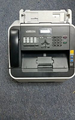 Brother IntelliFax 2840 FAX-2840 High-Speed Laser Printer Fax Machine with Toner