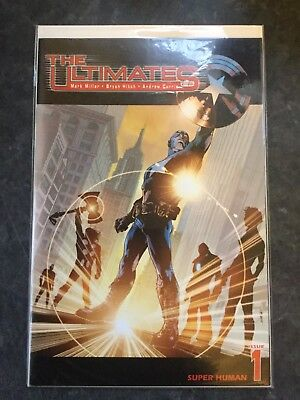 """The Ultimates (2002) #1 """"Super-Human"""" By Mark Millar & Bryan Hitch"""