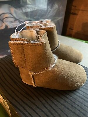 Baby Toddler Mocassins Size 4 Brown