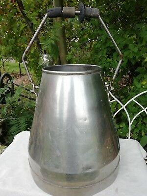 Large Steel Vintage Milk Cream Churn Handle Garden Planter Pot Umbrella Stand