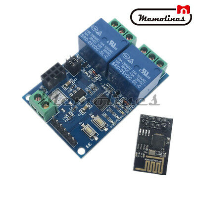 5V ESP8266 ESP-01 2-Channel WiFi Relay Module Relay Module For IOT Smart Home