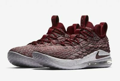 a322f74c4bc NIKE LEBRON JAMES 15 XV Low Taupe Grey Team Red Vast Grey AO1755-200 ...
