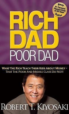 Rich Dad Poor Dad : What the Rich Teach Their Kids about Money(AUDIOBook)