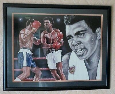 """""""MOHAMMAD ALI"""" (The One & Only) BY: B&D MEADOWS. """"Very Rare"""" No:20/850 VGC L@@K!"""
