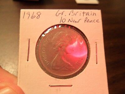 1968 Great Britain- 10 New Pence