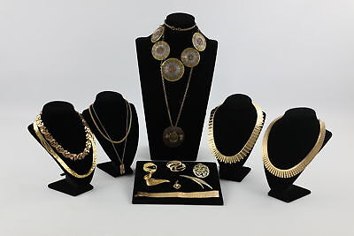 15 x Vintage Mid Century MODERNIST JEWELLERY inc Statement Necklaces, Brooches