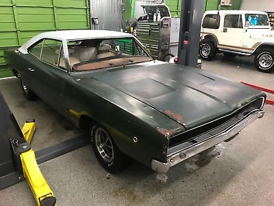 1968 Dodge Charger 1968 Dodge Charger 383 V8 Automatic 1968 Dodge Charger Green!