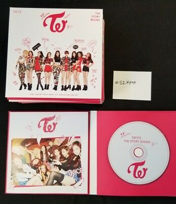 TWICE - The Story Begins Album - Thailand Edition (No Photocard)