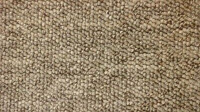 WHIPPED BUDGET FEATURE STAIR CARPET RUNNER 66cm x 8metres GREY BERBER FELT BACK