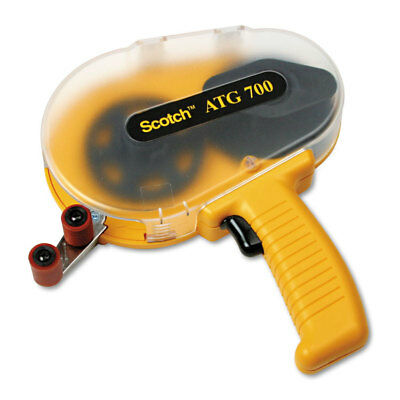 Scotch Adhesive Transfer Tape Applicator Clear Cover ATG700