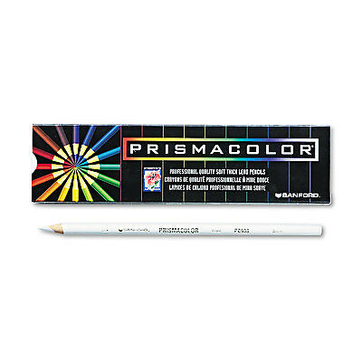 Prismacolor Premier Colored Pencil White Lead/Barrel Dozen 3365