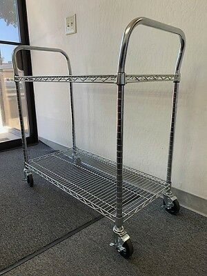 """Metro / Olympic Wire Utility Carts, 48""""W x 18""""D x 39""""H"""