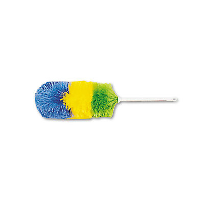 """Boardwalk Polywool Duster w/20"""" Plastic Handle Assorted Colors 9441"""