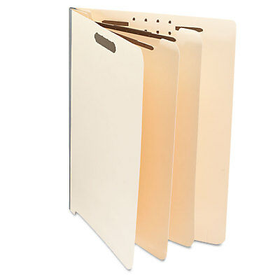 UNIVERSAL Manila End Tab Folders with Full Cut Letter Six-Section 10/Box 16150