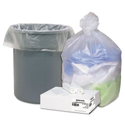Ultra Plus High Density Can Liners 31-33gal .433mil 33 x 40 Natural 100/Carton