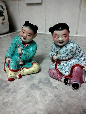 Chinese porcelain figures, very old