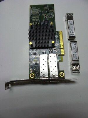 Chelsio  T520-SO-CR Dual Port  10Gb Ethernet Network Unified  Card 2x SFP+ inc
