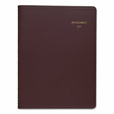 At-A-Glance Weekly Appointment Book 8 1/4 x 10 7/8 Winestone 2019 7095050