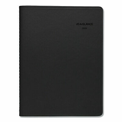 At-A-Glance QuickNotes Weekly/Monthly Appointment Book 8 1/4 x 10 7/8 Black 2019