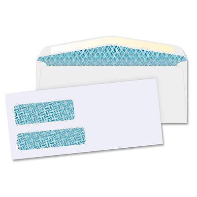 "Business Source Double Window Envelopes No. 9 3-7/8""x8-7/8"" 500/BX White 36680"