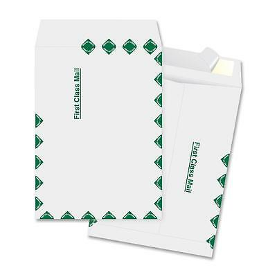 """Business Source Open End Envelopes First Class 9-1/2""""x12-1/2"""" 100/BX White 65805"""