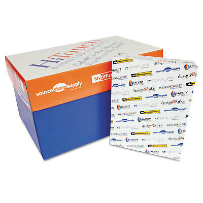 HiTouch Copy Paper 99 Bright 20lb 8-1/2x11 3-Hole 5000 Sheets MOPREPORT3H