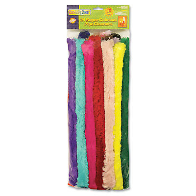 "Chenille Kraft Super Colossal Pipe Cleaners 18"" x 1"" Metal Wire Polyester 24"