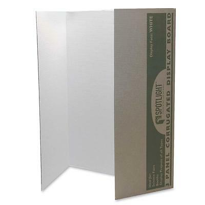 "Pacon Single Walled Presentation Board 40""x28"" 8/CT White 3774"