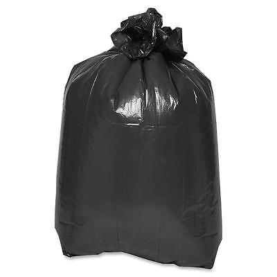 """Special Buy Trash Container Liners 43""""x47"""" 2mil LD 100/CT Black LD434720"""