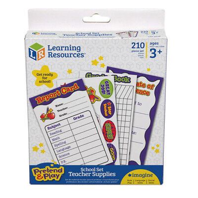 Learning Resources School Set Pretend And Play Teaching Teacher