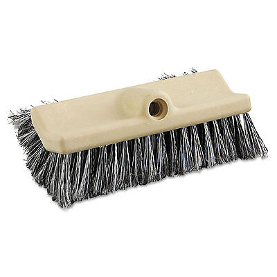 "Boardwalk Dual-Surface Vehicle Brush 10"" Long Brown 8420"