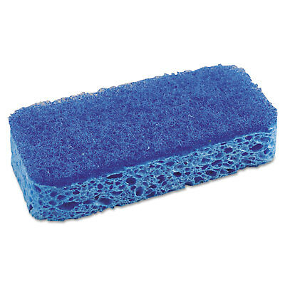 """S.O.S. All Surface Scrubber Sponge 2 1/2 x 4 1/2 1"""" Thick Blue 12/Carton 91017"""