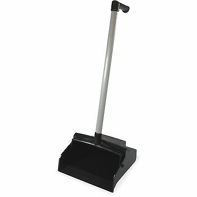 "Impact Products Lobby Master Dust Pan L-Grip 11""x12""x32"" BK/SR 2602"