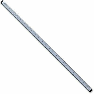 "Lorell Magnetic Strip w/Ruler 36"" Silver 32118"