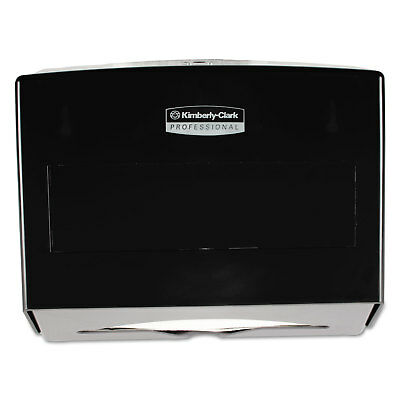 KIMBERLY CLARK Scottfold Towel Dispenser Plastic 10 3/4w x 4 3/4d x 9h Smoke