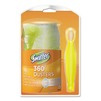 MOT 360 Duster Starter Kit, Handle with One Disposable Duster, 12 Kits/Carton