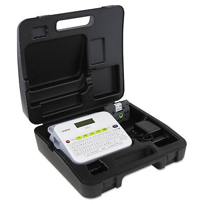 Brother P-Touch PT-D400VP Versatile Label Maker with AC Adapter and Carrying