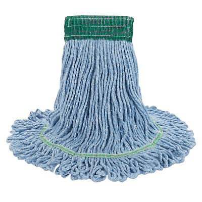 Boardwalk Super Loop Wet Mop Head Cotton/Synthetic Medium Size Blue 12/Carton