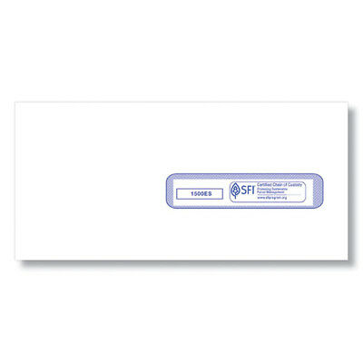 "ComplyRight CMS-1500 #10-1/2 (4-1/2"" x 9-1/2"") Window Envelope Self Seal (500"