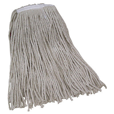 O-Cedar Mop Heads Economy 24 oz. White 12/Case JAN150