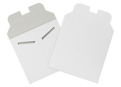 """Box Partners Flat Mailers 5-1/8"""" x 5-1/8"""" White 200/Case RM8W"""