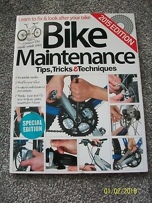 Bike Maintenance Tips Tricks & Techniques New Magbook Bookazine Magazine Bicycle