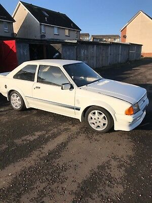 Ford-Escort-RS-Turbo-Series-1 REPLICA 1982 SHELL..Project