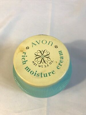 1961-71 Vintage Avon Rich Moisture Face Cream