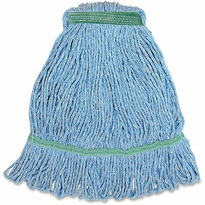 Genuine Joe Med Bland Narrow Band Looped Mop 12/CT Blue MBL1BCT