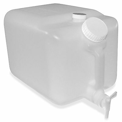 "Impact E-Z Fill Container 5 Gallon 9.5""x10"" Translucent 7576"