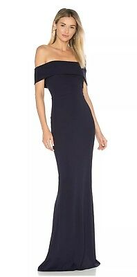 Katie May Legacy Gown Navy Blue Size 4. Worn Once Perfect Condition