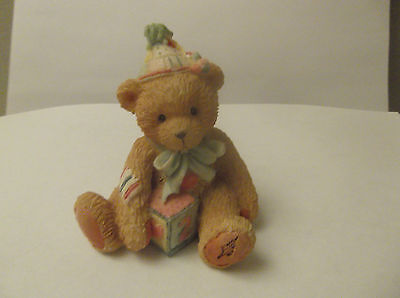 Cherished Teddies P Hillman Birthday Bear Age 2 Two Sweet To Bear Numbered 1992