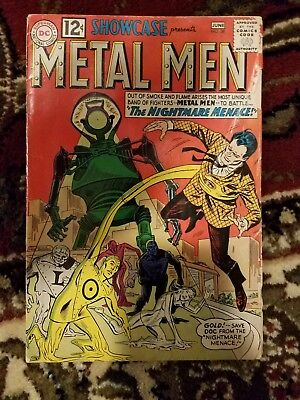 Showcase presents Metal Men 38 2nd Appearance 1st Print 1962 DC Comics Nightmare