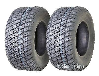2 New 16x6.5-8 16x6.5x8 Lawn Mower Tractor Cart Turf Tires /4PR